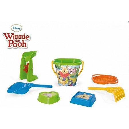 Набор для песка Винни Пух Disney 7 элементов. Wader, 77142