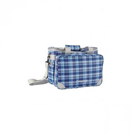 Набор для пикника KingCamp Picnic Icy Bag 3 (KG2708P) Blue CHECKERS