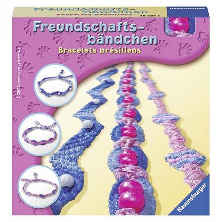 Набор для творчества Ravensburger Плетение, браслеты 1 (RSV-182855)