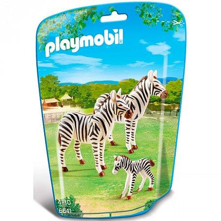 Набор фигурок Семья зебр, Playmobil, 6641