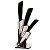 Набор керамических ножей, 3 шт.+ подставка