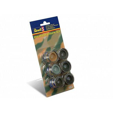 Набор красок д/военной техники и самолетов Military colour set (6x14ml), Revell, 32340