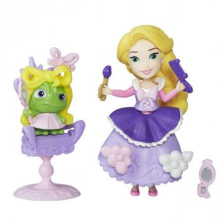 Набор Мини-кукла Рапунцель с аксессуарами, Маленькое королевство, Disney Princess Hasbro, B5337 (B5334)