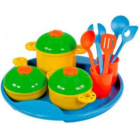 Набор посуды 14 предметов, Lena, 65135