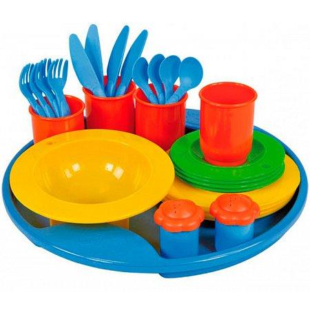 Набор посуды 27 предметов, Lena, 65136
