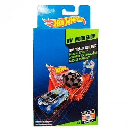 Набор Прыжок с парашютом - препятствия на пути серии Собери все треки, Hot Wheels, прыжок с парашютом, BGX66-2