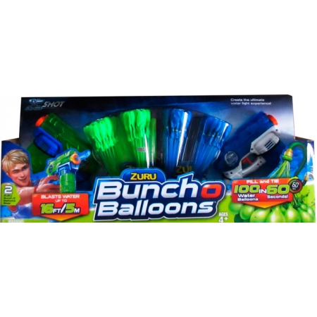 Набор водных бластеров Bunch Oballoons, Zuru X-Shot, 5601