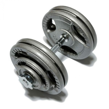 Наборная гантель 25,5 кг FitLogic Hammer Finished Dumbbell 25,5 kg, DB6010-25,5