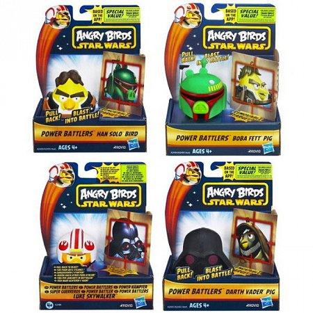 Настольная игра Angry Birds Star Wars Атака с воздуха, в ассорт., Hasbro A2493