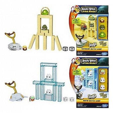 Настольная игра Angry Birds Star Wars Jenga Сражение (в ассорт.4) Hasbro A2844