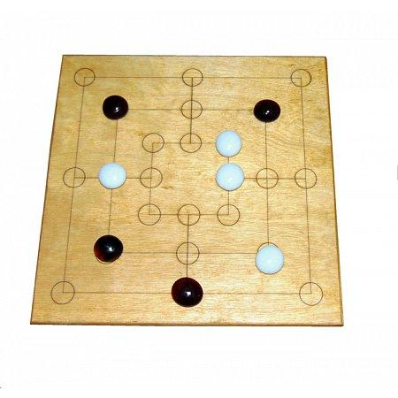 Настольная игра Мельница (Nine Men Morris)