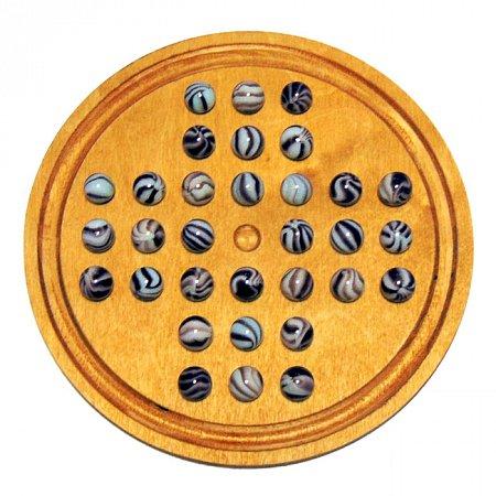 Настольная игра Солитер (Китайские шашки на одного)