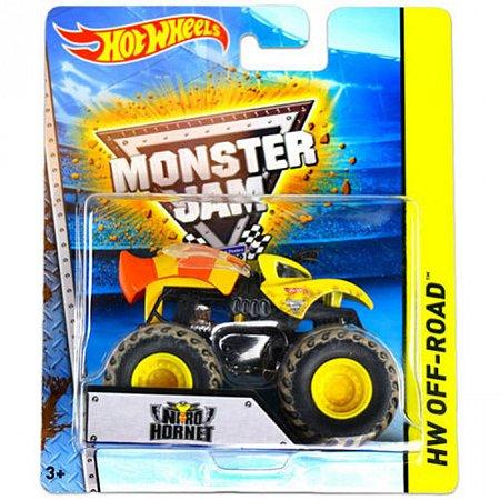Nitro Hornet, Машина-внедорожник Monster Jam, Hot Wheels, Mattel, Nitro Hornet, BHP37-5