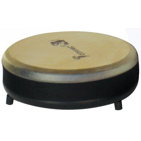 Низкий барабан из натуральной кожи (11,5 x 34 см), Trommus, H3