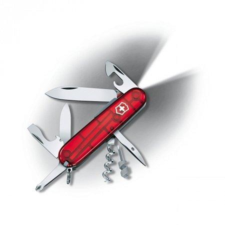 Нож Victorinox Spartan Lite 1.7804.T полупрозрачный красный Victorinox