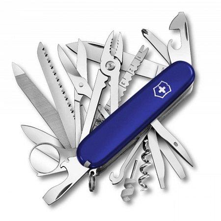 Нож Victorinox SwissChamp 1.6795.2R cиний