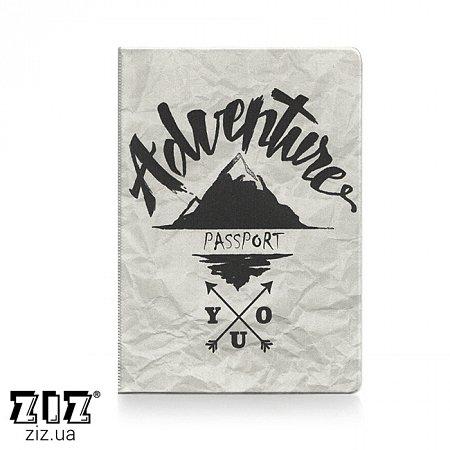 Обложка для паспорта Adventure, ZIZ-10097