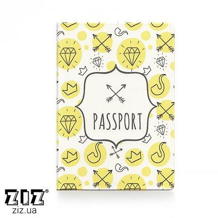 Обложка для паспорта Hipster, ZIZ-10093