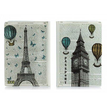 Обложка для паспорта Лондон-Париж, ZIZ-10079