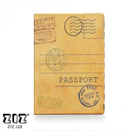 Обложка для паспорта Открытка, ZIZ-10095