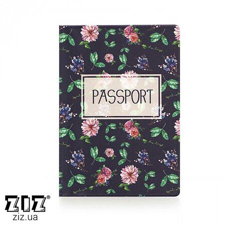 Обложка для паспорта Сад, ZIZ-10099