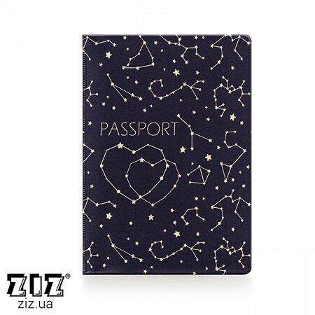 Обложка для паспорта Созвездия, ZIZ-10096