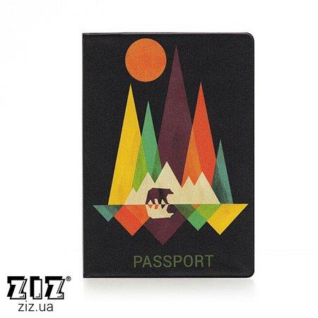 Обложка для паспорта Тур, ZIZ-10090