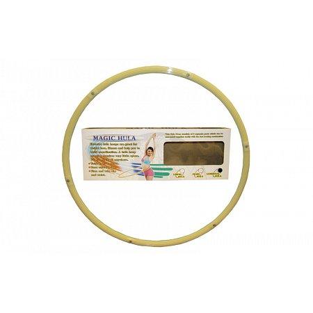 Обруч складной светящийся Hula Hoop PS HR-057 LUMINOUS HU-LA (1,05кг, пластик, 6 секций, d-90см)