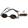 Очки, беруши для плавания стартовые SAILTO 807AF (пластик, силикон, зеркальные, цвета в ассортим)