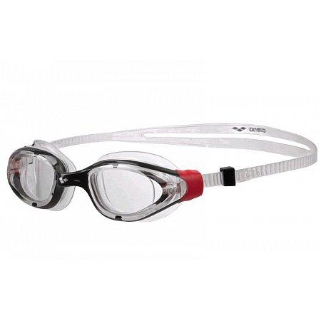 Очки для плавания ARENA AR-1E001-14 VULCAN-X (поликарбонат, TPR, силикон, красный-серый)