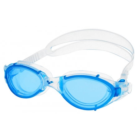 Очки для плавания ARENA AR-92342-88 NIMESIS (поликарбонат, TPR, силикон, позрачно-голубой)