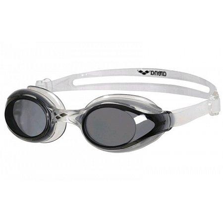 Очки для плавания ARENA AR-92362-12 SPRINT (поликарбонат, TPR, силикон, серо-черные)
