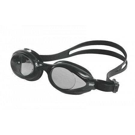 Очки для плавания ARENA AR-92362-55 SPRINT (поликарбонат, TPR, силикон, черные)