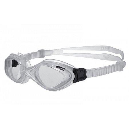 Очки для плавания ARENA AR-92373-10 FLUID (поликарбонат, TPR, силикон, серый)