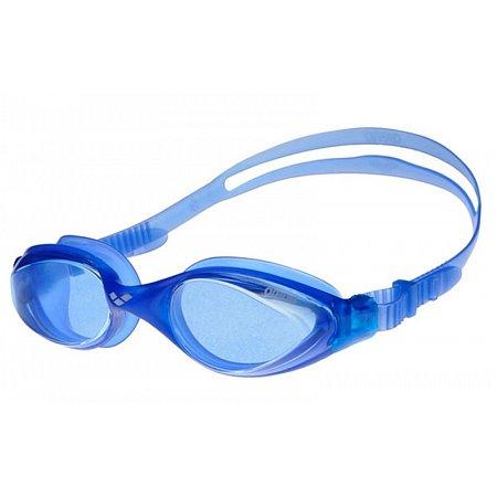 Очки для плавания ARENA AR-92373-77 FLUID (поликарбонат, TPR, силикон, голубой)