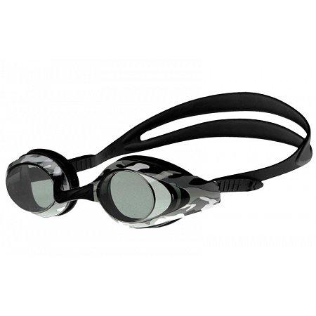 Очки для плавания ARENA AR-92380-55 EAGLE (поликарбонат, TPR, силикон, черные-камуфляж)