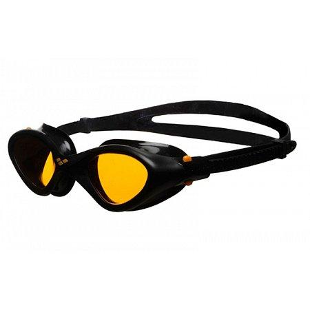 Очки для плавания ARENA AR-92381-53 CRUISER EASY FIT (поликарбонат, TPR, силикон, желто-черный)