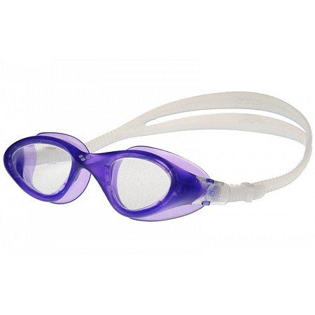 Очки для плавания ARENA AR-92381-80 CRUISER EASY FIT (поликарбонат, TPR, силикон, прозрачный-фиолетовый)