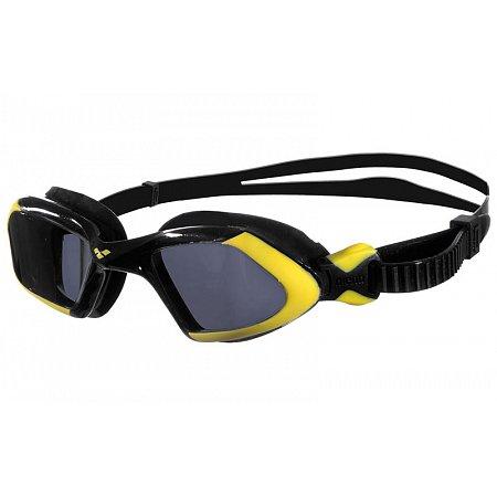 Очки для плавания ARENA AR-92389-53 VIPER UNISEX (поликарбонат, TPR, силикон, черно-желтые)