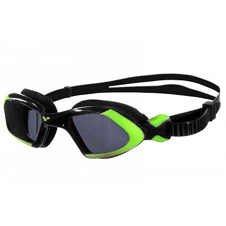 Очки для плавания ARENA AR-92389-56 VIPER UNISEX (поликарбонат, TPR, силикон, черно-салатовые)