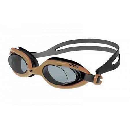 Очки для плавания ARENA AR-92401-33 X-FLEX (поликарбонат, TPR, силикон, бежевые)