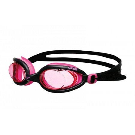 Очки для плавания ARENA AR-92401-59 X-FLEX (поликарбонат, TPR, силикон, черно-розовые)