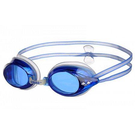 Очки для плавания ARENA AR-92409-77 DRIVE 2 (поликарбонат, TPR, силикон, синие)