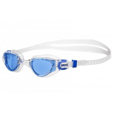 Очки для плавания ARENA детские AR-1E002-17 CRUISER SOFT JR (поликарбонат, TPR, силикон, серый-голубой)