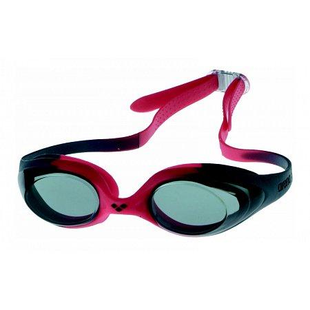 Очки для плавания ARENA детские AR-92338-55 SPIDER JR (поликарбонат, TPR, силикон, красные)