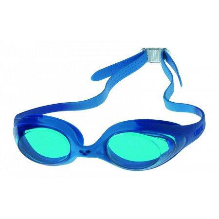 Очки для плавания ARENA детские AR-92338-78 SPIDER JR (поликарбонат, TPR, силикон, синие)