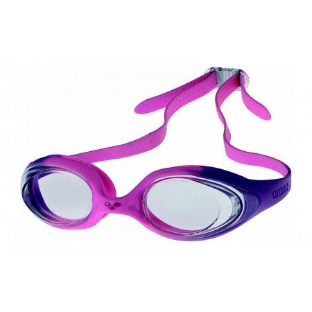 Очки для плавания ARENA детские AR-92338-91 SPIDER JR (поликарбонат, TPR, силикон, розовые)