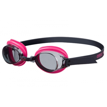 Очки для плавания ARENA детские AR-92395-95 BUBBLE 3 (поликарбонат, TPR, силикон, чорно-розовые)