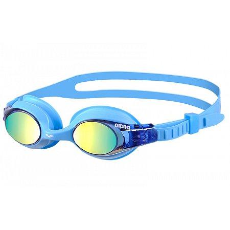 Очки для плавания ARENA детские KIDS AR-92420-77 X-LITE MIRROR (поликарбонат, TPR, силикон, синие)