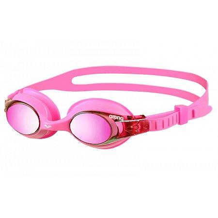 Очки для плавания ARENA детские KIDS AR-92420-99 X-LITE MIRROR (поликарбонат, TPR, силикон, розовые)